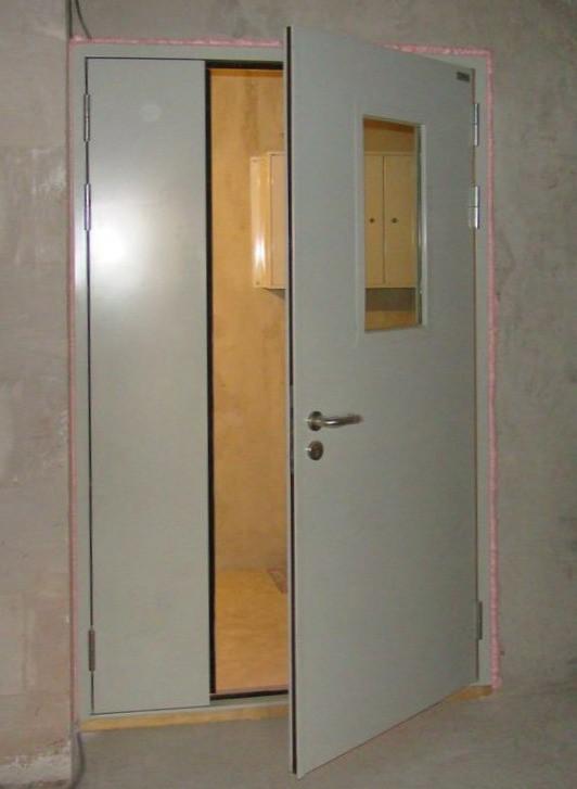 фото двери противопожарные металлические
